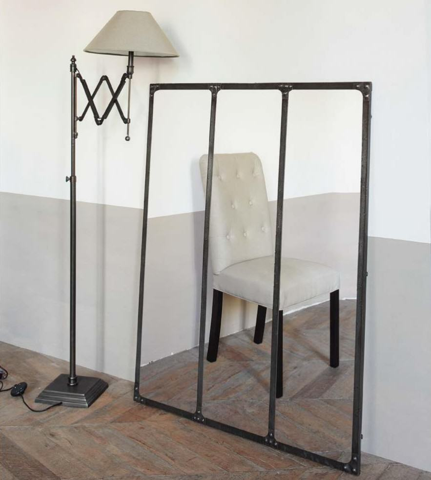 miroir cargo maisons du monde. Black Bedroom Furniture Sets. Home Design Ideas
