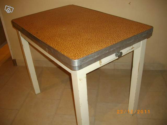 Table formica vintage for Table formica