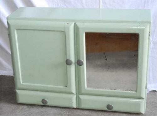 Meubles vintage l 39 atelier azimut - Armoire de toilette vintage ...
