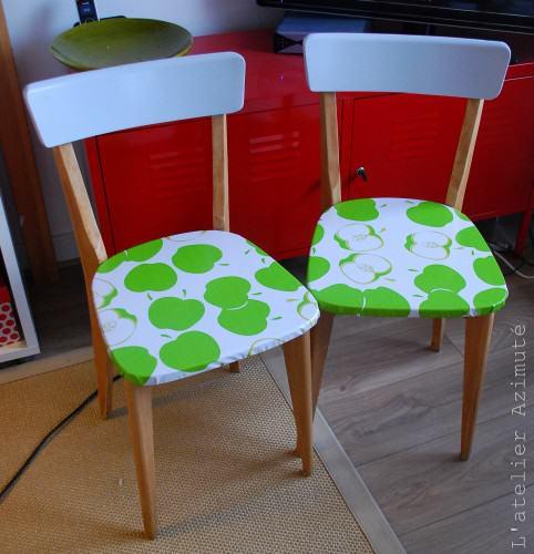 Repeindre Une Chaise L 39 Atelier Azimut