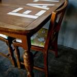 DIY du week-end : une table personnalisée