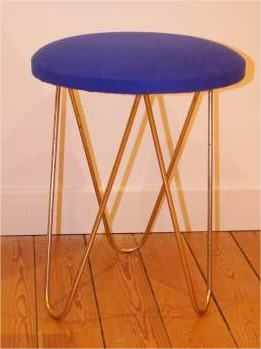 Tabouret vintage seventies (PORT COMPRIS) Ameublement Marne - leboncoin.fr - Mozilla Firefox