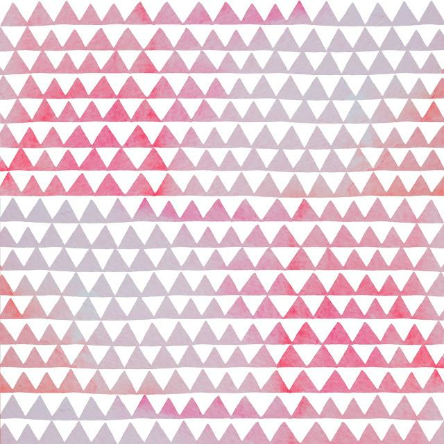 triangles-aquarelle-pastel-rose-motifs