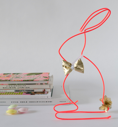 MANON H_The Lapin Chic Corail Gold