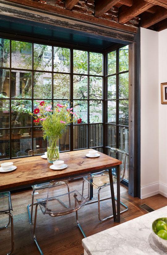 D coration 10 salles manger de r ve l 39 atelier azimut for Salle a manger veranda