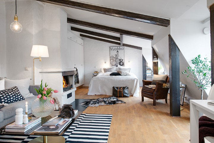 Inspirations l 39 atelier azimut for Appartement sous les toits
