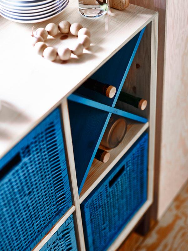 Ikea collection nornäs bibliothèque modulable