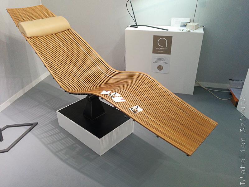 chaise bois et métal par Atelier Rouge Cerise