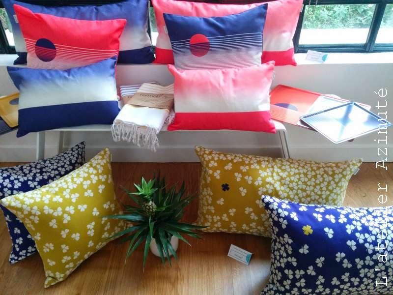 Collection fermob textiles et accessoires d'exterieur