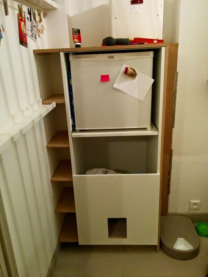 aménager un meuble sur mesure dans une niche
