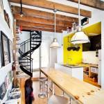 {Visites} Une ancienne boutique transformée en loft au Québec