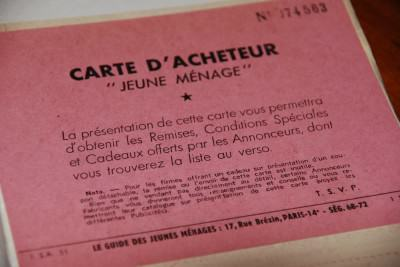 carte acheteur jeunes ménages 1951