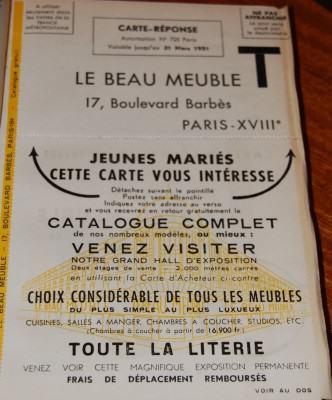 cadeau jeunes ménages Le Beau Meuble- vintage 1951