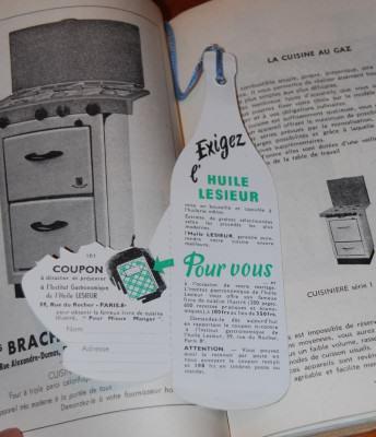 coupon cadeau lesieur vintage 1951 verso