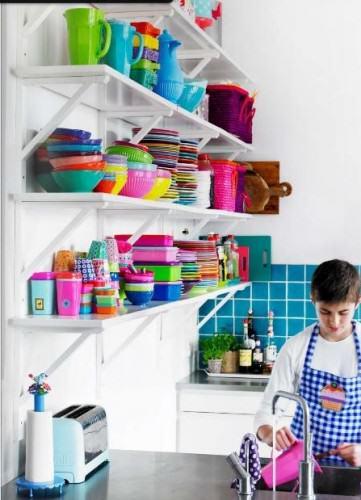 Rice vaisselle mélamine colorée