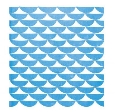 motif répétitif bleu