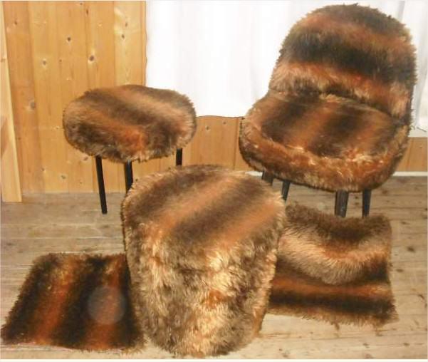 Chaise et tabouret en poils Ameublement Jura - leboncoin.fr - Mozilla Firefox