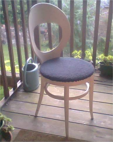 Lot de 3 chaises veritable vintage KUOM, rare Ameublement Oise - leboncoin.fr - Mozilla Firefox