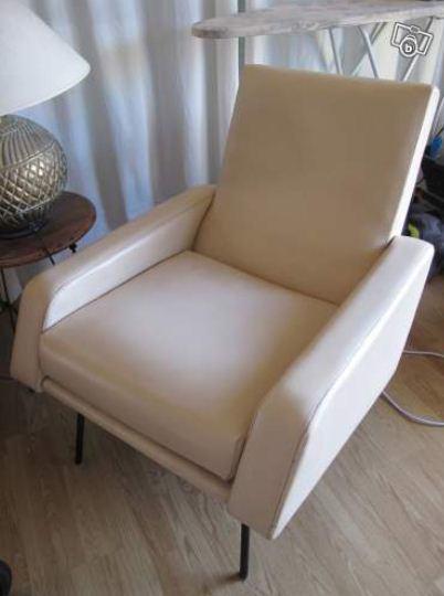 fauteuil-skai-blanc-vintage