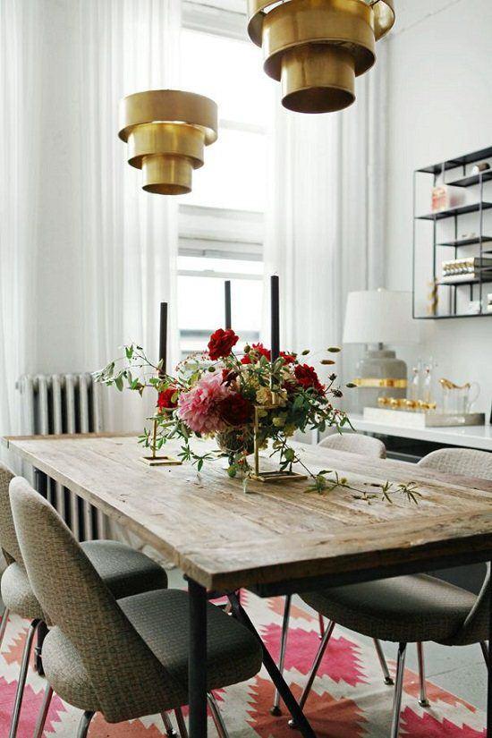salle-a-manger-retro-chic-vintage-bronze