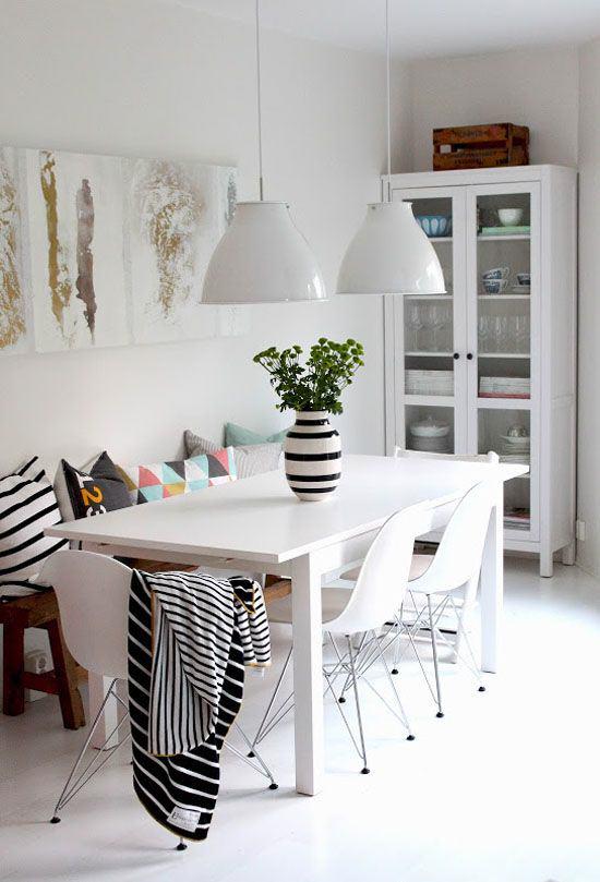 salle-a-manger-scandinave-graphique-noir-et-blanc