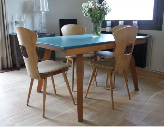Table et chaises BAUMANN Ameublement Indre-et-Loire - leboncoin.fr - Google Chrome