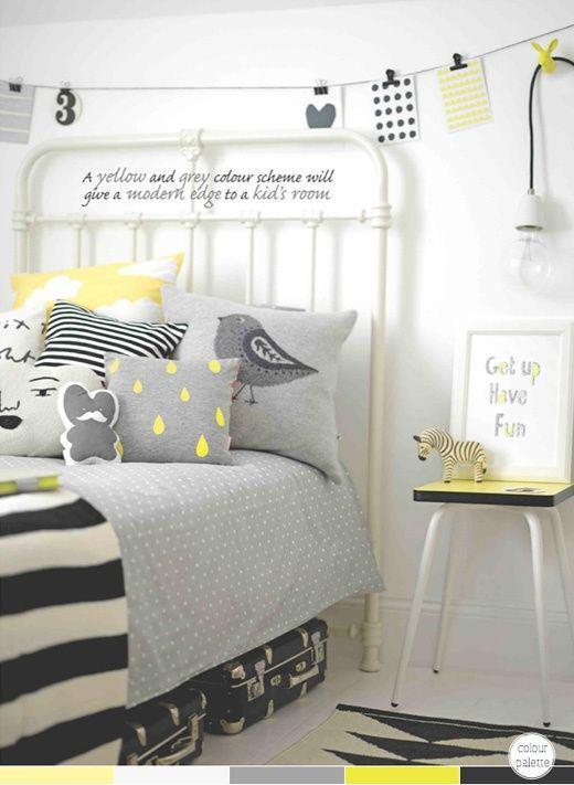 chambre-noir-jaune-blanc-gris