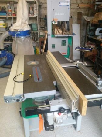 Machine combinée bois Lurex 260