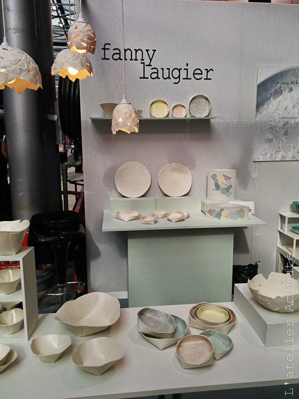 Fanny Laugier céramiste Maison & Objet 2014