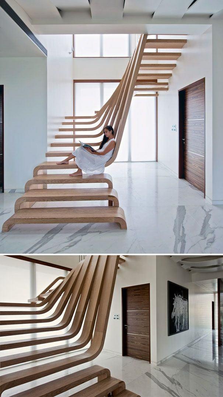 escalier-bois-design