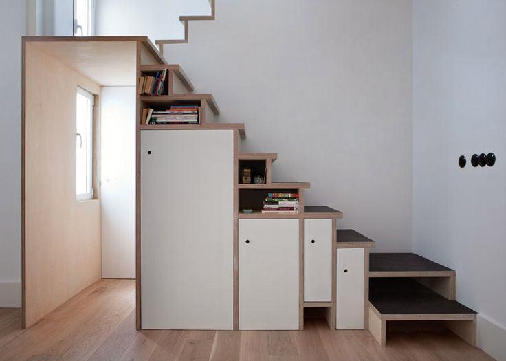 escalier-rangement