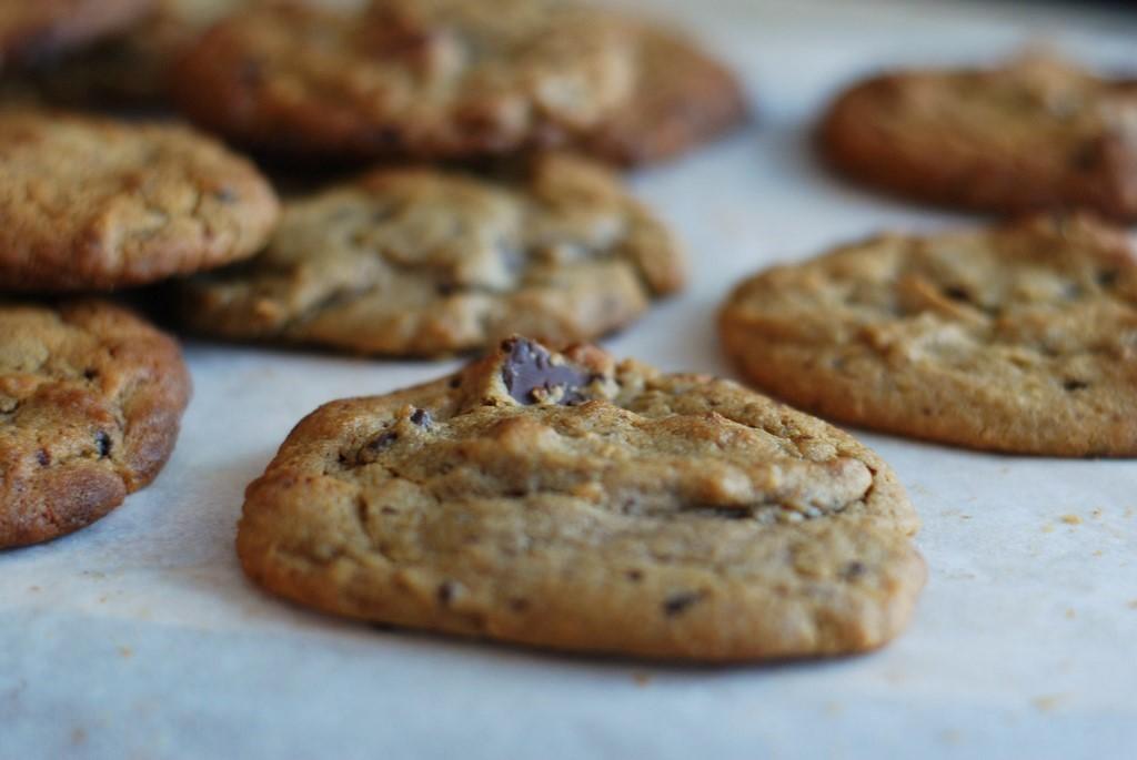 cookies au beurre de cacahuète et chocolat