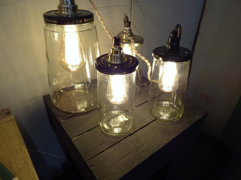 rescued lampes bocaux
