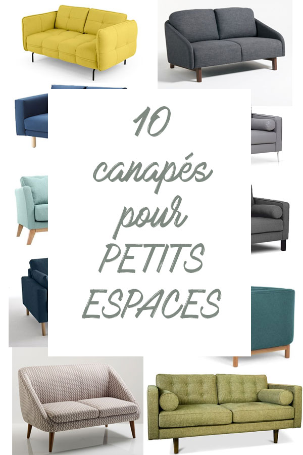 Decoration 10 Canapes Pour Les Petits Espaces L Atelier Azimute