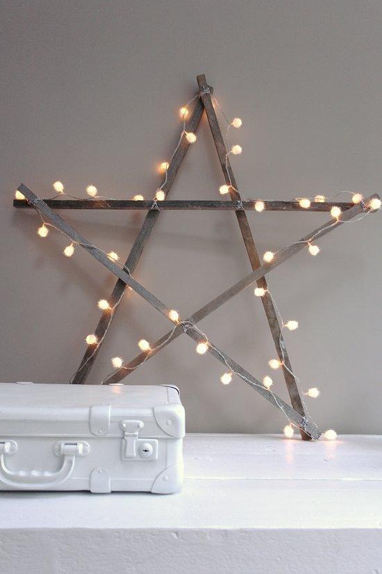 top 5 idées déco de noel DIY étoile lumineuse