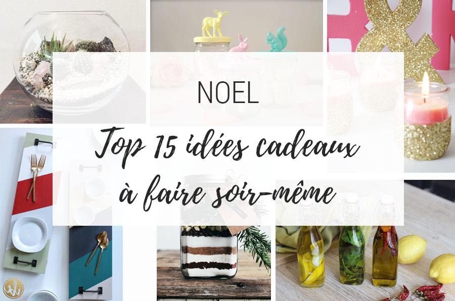 top 15 idées cadeaux de noel DIY