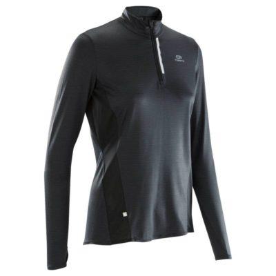 Tee shirt à manches longues running décathlon