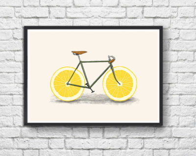 Affiche Zest Bike - WallEditions