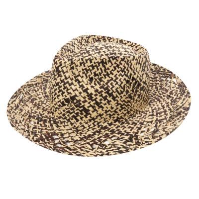 Chapeau Paille Ding Noir Soeur - 45€