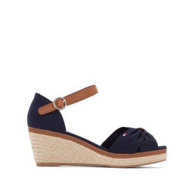 Sandales compensée Elba Tommy Hilfiger - 89€